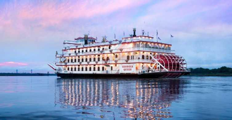 Savannah: Sunset Sightseeing Riverboat Cruise