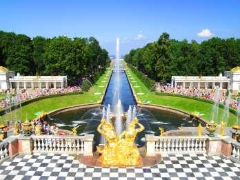 St. Petersburg: Besichtigung der Eremitage und des Peterhof Lower Park