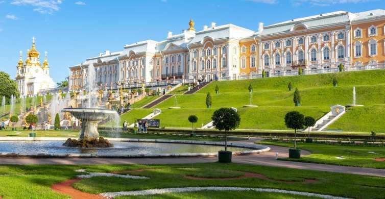 Peterhof Palace & Lower Park Tour from St. Petersburg