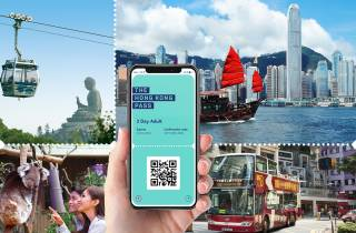 Hong Kong Pass: Zugang zu über 10 Top-Attraktionen und Touren