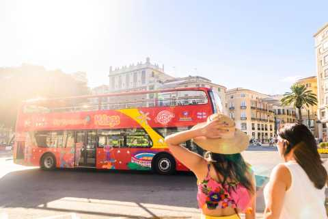 Malaga: Hop-on Hop-off Bus & Experience Card Options