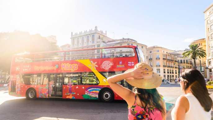Málaga: autobús turístico y tarjeta Experience