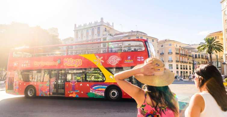 Malaga: Hop-on Hop-off Bus & Experience Card Options