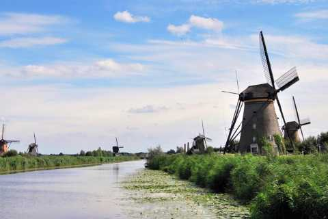 Amsterdam: Guided Kinderdijk and Amsterdam Castle Tour