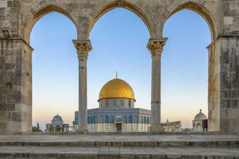 From Tel Aviv: Jerusalem Old City Day Tour by Train