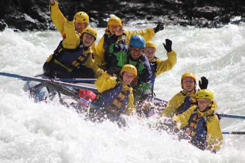 Kicking Horse River: Maximum Horsepower Double Shot Rafting