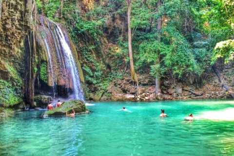 Bangkok: Kanchanaburi and Erawan Waterfall Private Tour