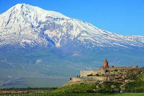From Yerevan: Khor Virap Monastery, Winery & Birds Cave Tour