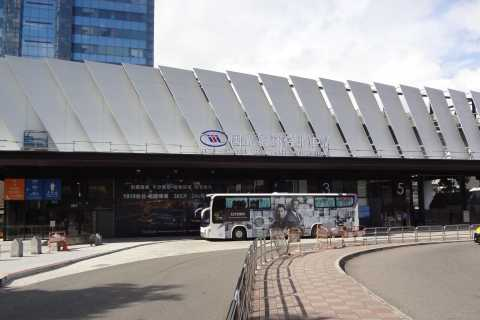 Shared Bus Transfer between Taoyuan Airport and Taipei