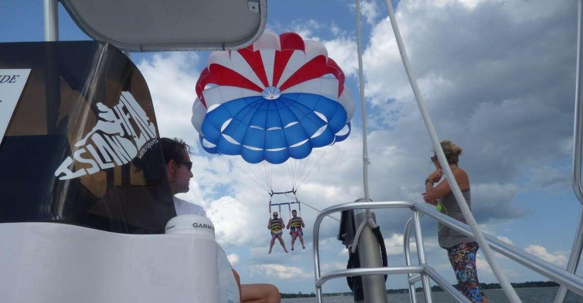 Hilton Head Island: High-Flying Parasail Experience