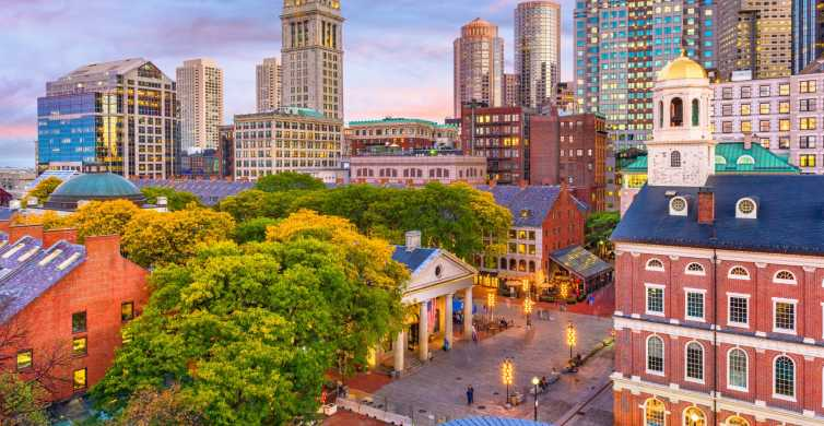 Boston: Guided Sightseeing Tour with Harbor Cruise