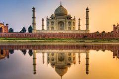 De Delhi: Bilhete Taj Mahal e Forte de Agra e transporte opcional