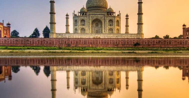 From Delhi: Taj Mahal & Agra Fort Ticket & Optional Transfer