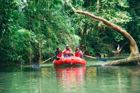 La Fortuna: Jungle Safari Float Sarapiqui nach San Jose
