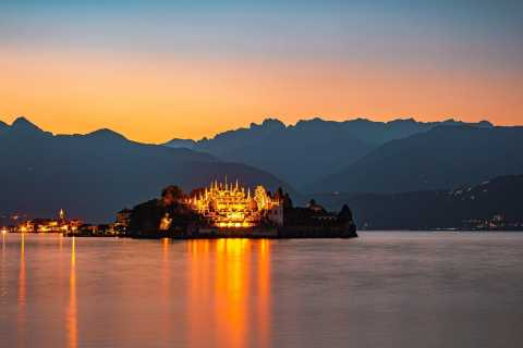 Stresa: croisière au coucher du soleil sur le lac Majeur et les îles Borromées