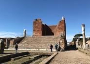 Rom: Ostia Antica Private Van Tour mit einem Archäologen