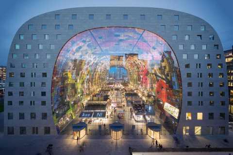 Rotterdam: Markthal Tour, Meet & Taste, and Het Witte Huis