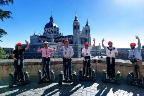Madrid: Private Sightseeing Segway Tour for 1, 2, or 3 Hours