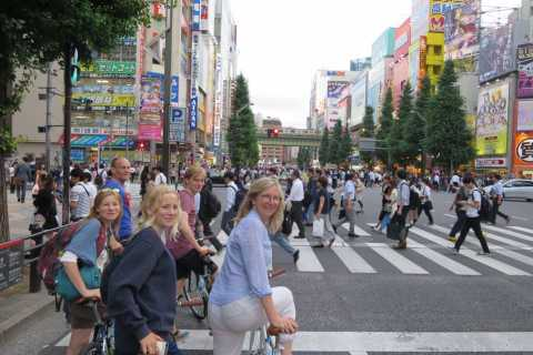 Tokyo: 3-Hour Cycling Tour to the Old Town