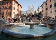 Rom: Geführte Wanderungen zu Springbrunnen und Plätzen