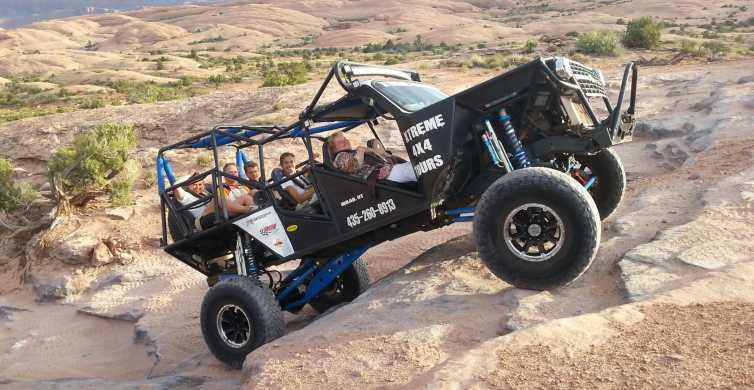Moab: Hells Revenge & Fins N' Things Trail Off-Roading Tour