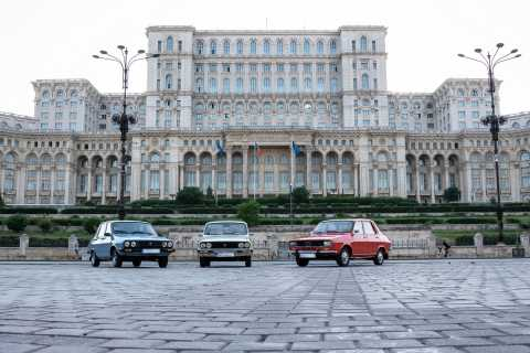 Bucharest: Private Flea Market Tour by Vintage Car