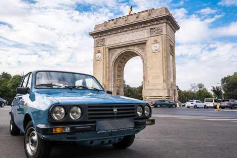 Bucharest: Private Communist Driving Tour in a Vintage Car