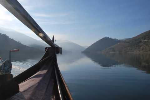 Pinhão: Private Rabelo Boat Tour along the River Douro