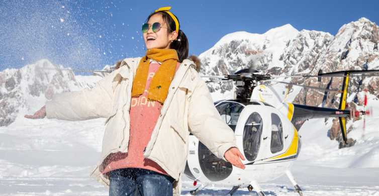 Franz Josef: Twin Fox & Franz Josef Glaciers Helicopter Trip