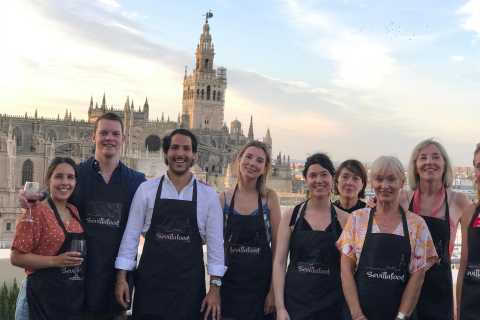 Seville: Learn to Cook Paella with Cathedral Views