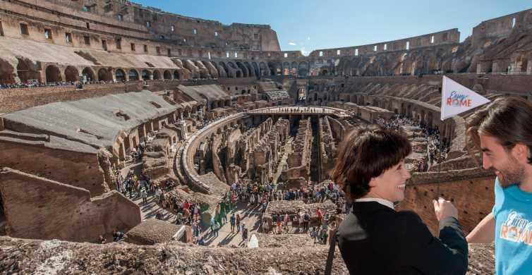 Rome: visite VIP arène du Colisée et Rome antique