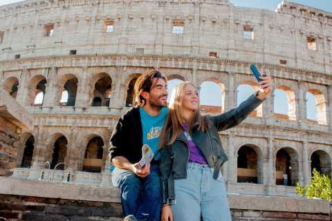 ローマ:コロッセオ、フォロ ロマーノ、パラティーノの丘優先入場ツアー