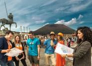 Ab Rom: Hin-und Rücktransfer nach Pompeji optional mit Guide