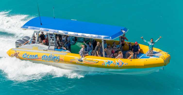 Whitsundays Ocean Rafting Tour: Snorkel, Walk & Whitehaven