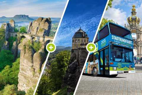 From Dresden: Saxon Switzerland National Park Full-Day Trip
