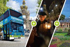Dresden Histórica: Circuito Hop-On Hop-Off por 22 Destaques