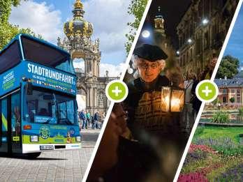 Dresden: Hop-On/Hop-Off-Tour zu 22 Sehenswürdigkeiten