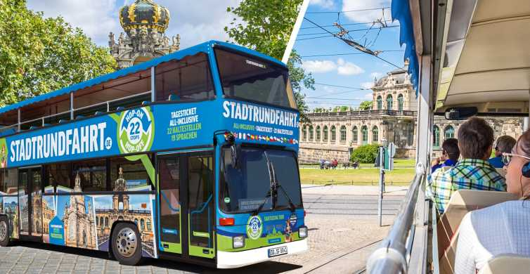 Dresden: 1-Day Hop-On-Hop-Off Bus Tour