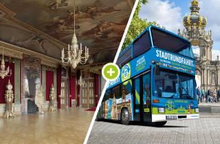 Dresdner Schloss Skip-the-Line-Eintritt & 2-tägiges Hop-On-Hop-Off