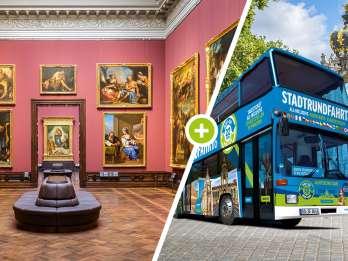 Dresden: Zwinger Skip-the-Line & 2-tägiger Hop-On-Hop-Off-Bus