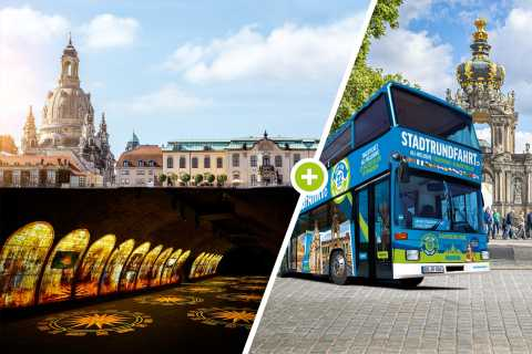 Dresden: 1-Day Hop-On Hop-Off Bus & Fortress Xperience