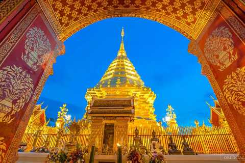 Chiang Man: Doi Suthep, Wat Pha Lat & Wat Umong Spanish Tour