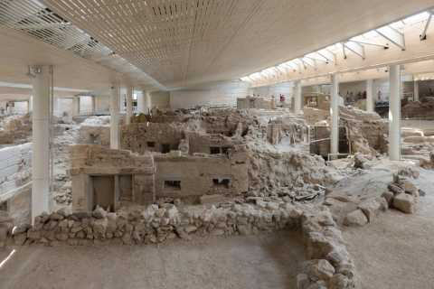 Santorini: Akrotiri Prehistoric City Guided Walking Tour