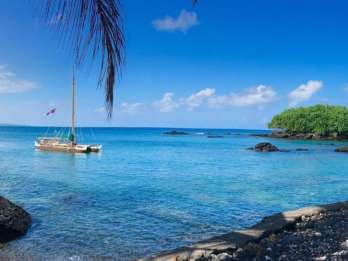 Hilo: Segelerfahrung auf einem hawaiianischen Kanu