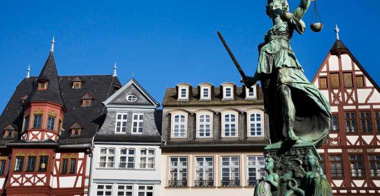 Frankfurt: Old Town Wonders Exploration Game and Tour