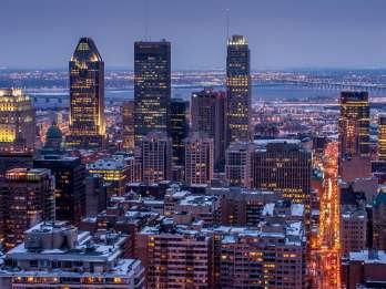 Montreal: Kleine Gruppenabend-Stadtrundfahrt