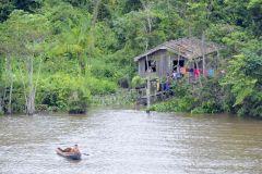 Belém: passeio de barco de meio dia em Furos e visita à comunidade ribeirinha