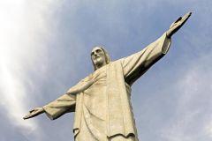 Rio: Bilhete Oficial do Cristo Redentor com Van Transporte