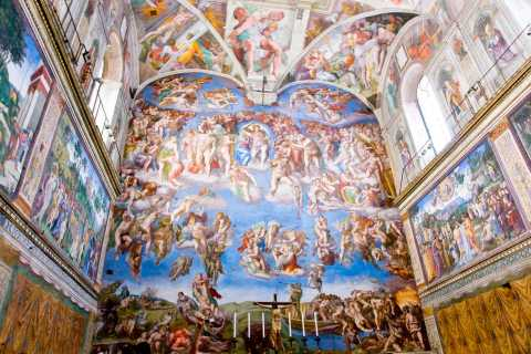Vatican & Sistine Chapel Virtual Tour with Licensed Guide