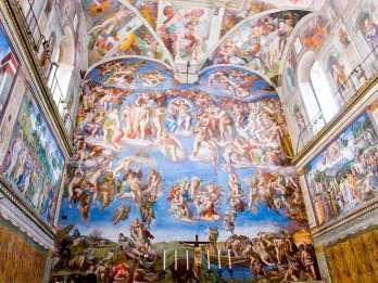 Virtuelle Tour durch die Vatikan- und Sixtinische Kapelle mit lizenziertem Führer